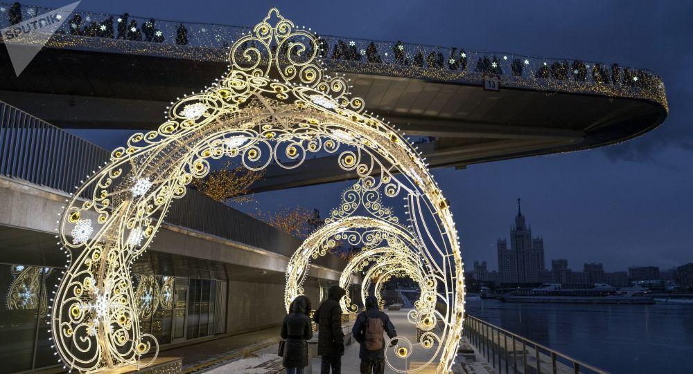 莫斯科扎里亚季耶音乐厅举办中国春节民族音乐会