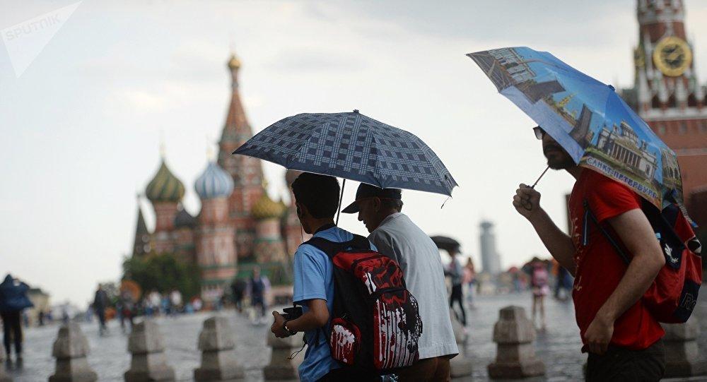 2018年共有120万名中国游客赴俄旅游