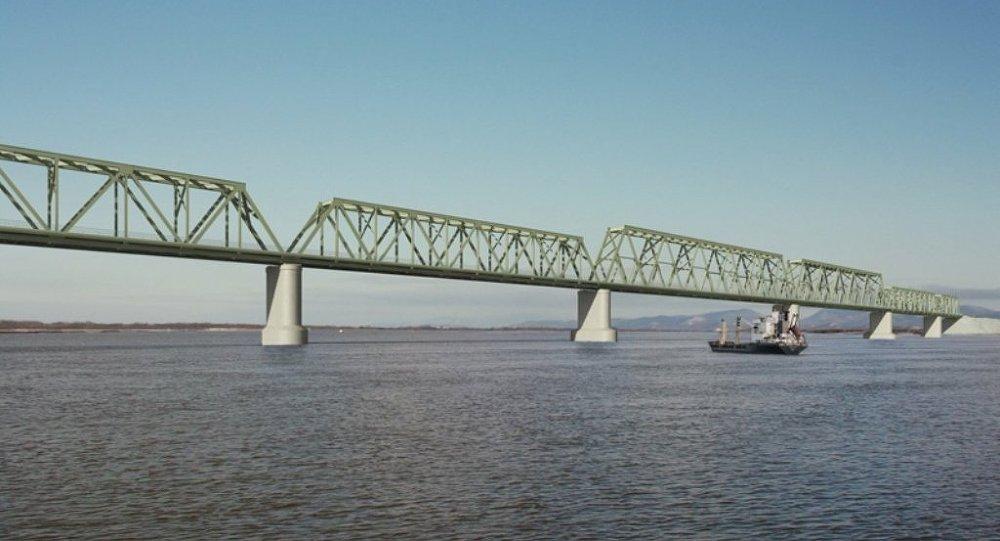 阿穆尔州政府:布拉戈维申斯克—黑河大桥两部分将于五月份对接