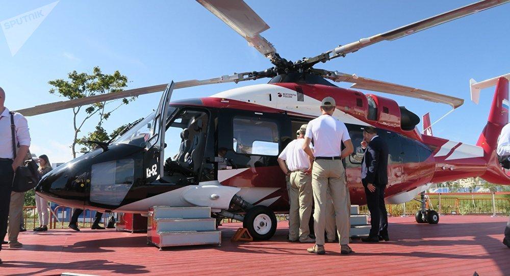俄技术国家集团:中国将建多个俄制直升机服务中心