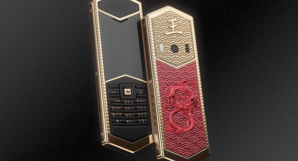 俄企推出中式风格豪华手机