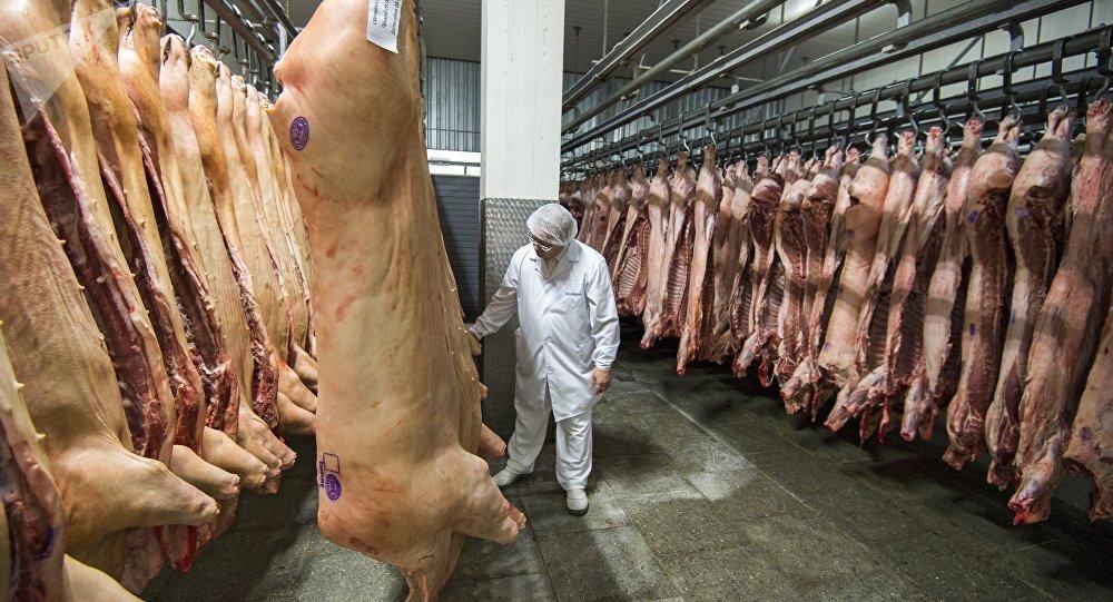 俄企在俄中协议框架下向中国发运首批冷冻禽肉
