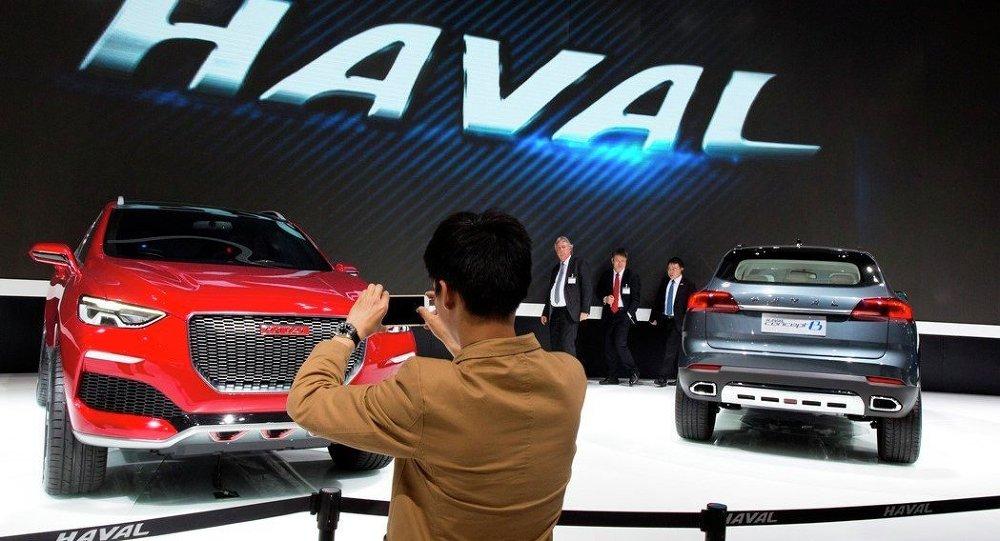 """""""哈弗""""首次在中国汽车在俄销售排名中夺冠"""