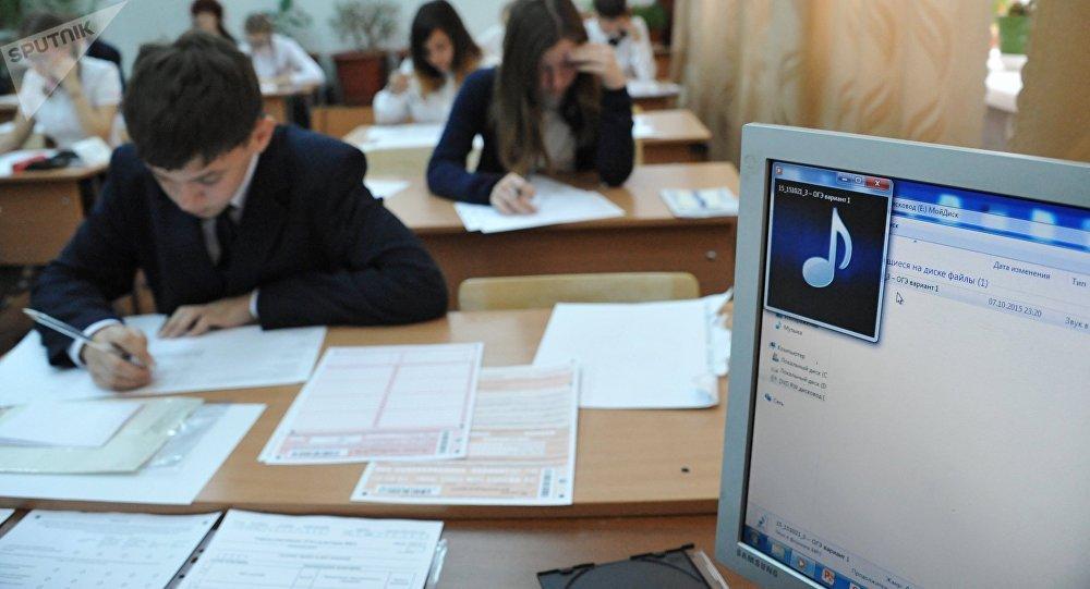 俄西伯利亚和远东地区举办首次国家统一考试汉语科目考试