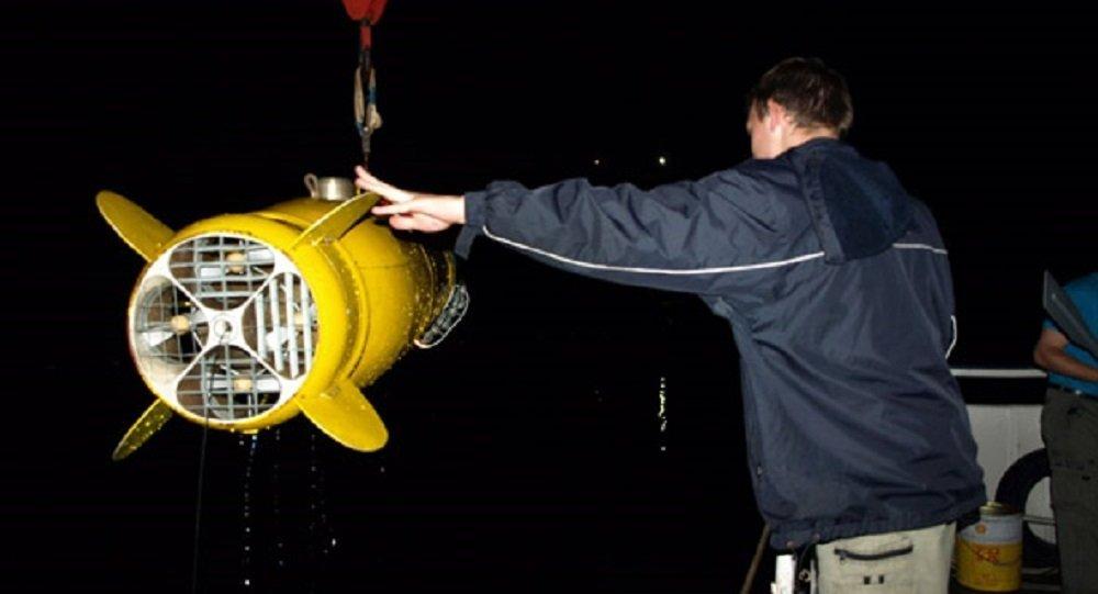 俄中科学家将进行水下无人航行器联合试验