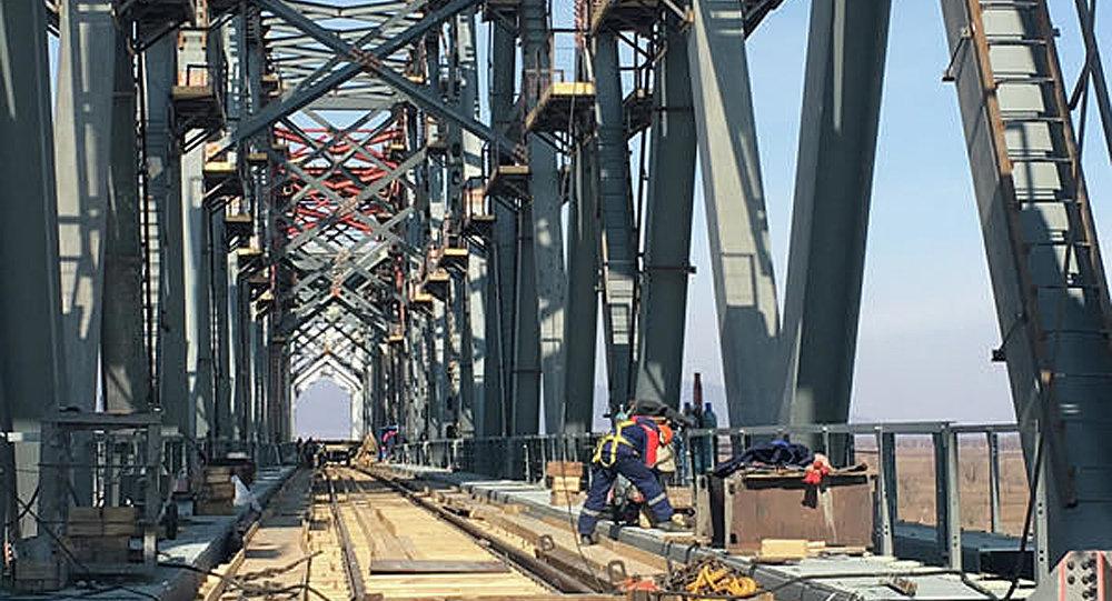 俄中双方就跨界江公路大桥口岸建设问题进行交流
