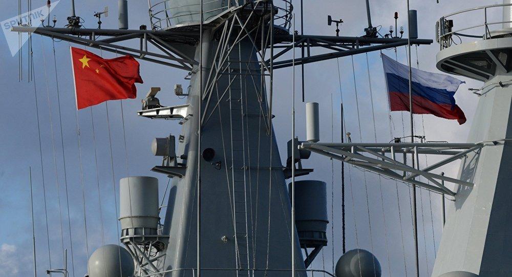 """中国国防部:中俄海军将举行 """"海上联合-2019""""联合军事演习"""