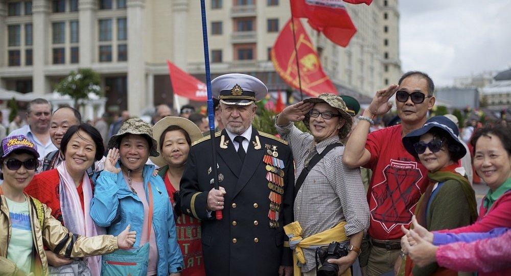 2万多名中国游客五一期间到访莫斯科和圣彼得堡