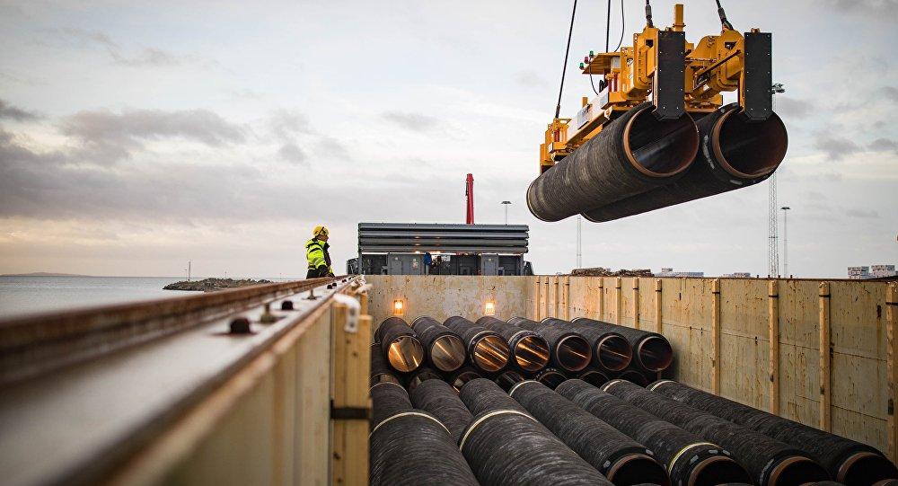 """德国经济和能源部称不接受美国对""""北溪-2""""项目的超地域制裁"""