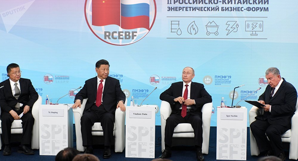 普京:能源是俄中关系的首要领域