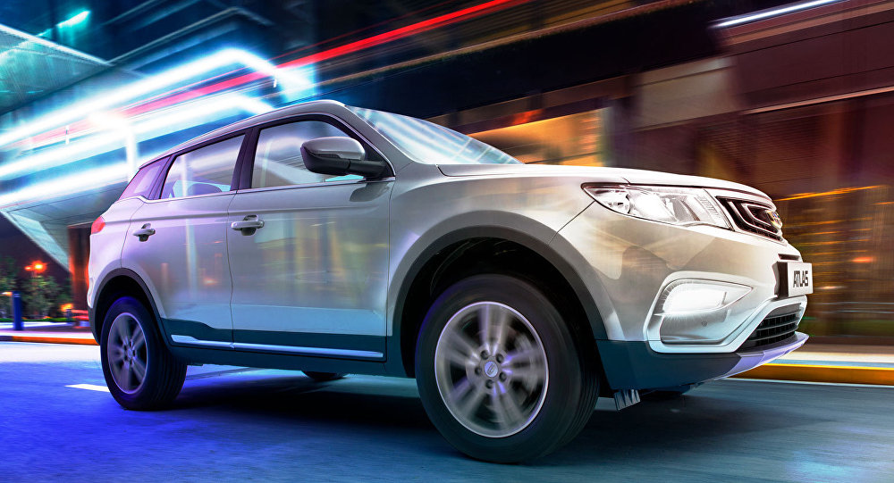2019年上半年中国汽车在出俄罗斯售量超1.6万辆