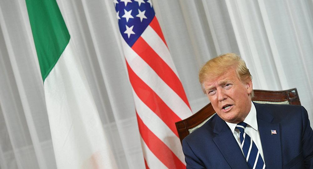 特朗普:美对伊朗的制裁将很快大幅加深