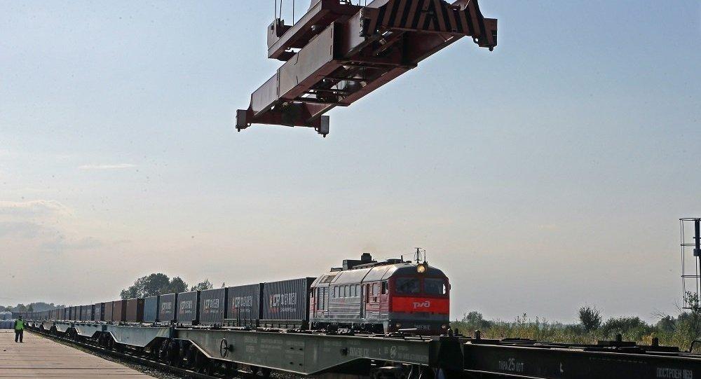 烟台至莫斯科州开通集装箱列车