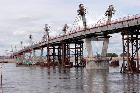 地空桥梁连接俄远东与中国 多条通道接近完工