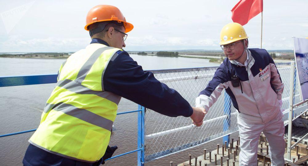 俄中双方将讨论建造贾林达至漠河铁路桥的项目