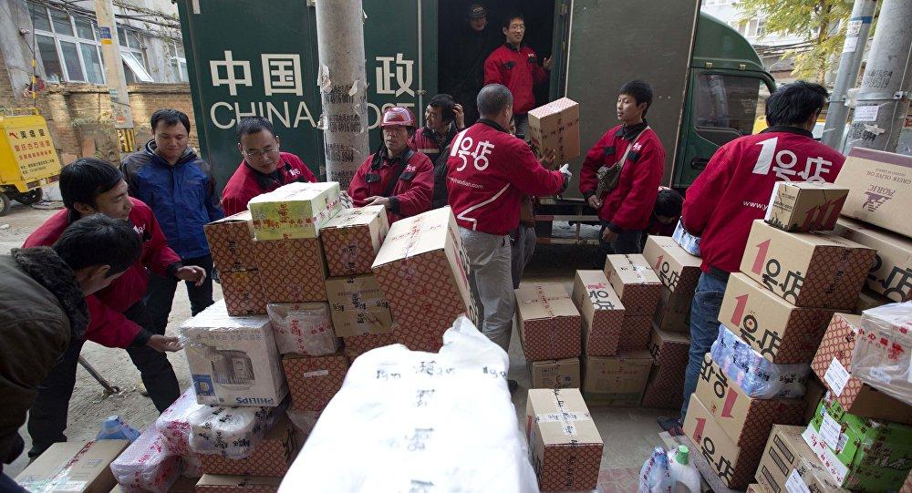 调查:俄消费者在中国网络商店的购物次数增长50%达到3200万次