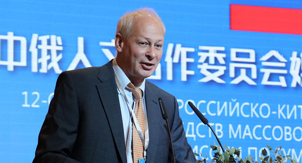 俄数字发展、通信与大众传媒部副部长:俄中反对在海外市场上对其媒体的差别对待