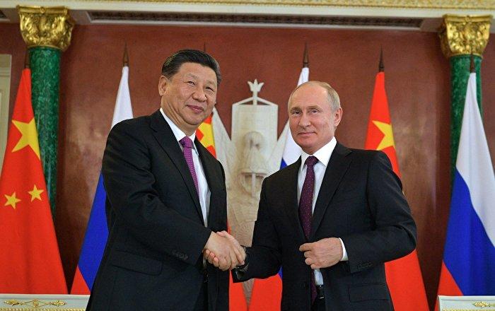 普京祝贺中国国家主席习近平新年快乐