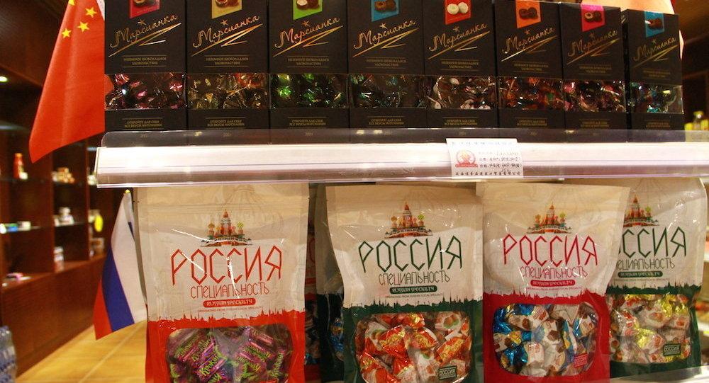 俄罗斯糖果深受中国消费者喜爱 满洲里海关进口量创历史新高