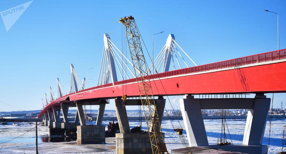 俄远东发展部:布拉戈维申斯克——黑河公路可以投入使用