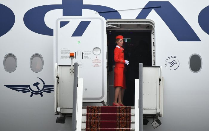 俄航4月总共将从中国向俄罗斯各地运送约2.5亿只口罩