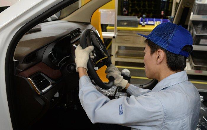 中国品牌汽车在俄罗斯销售量有所上涨