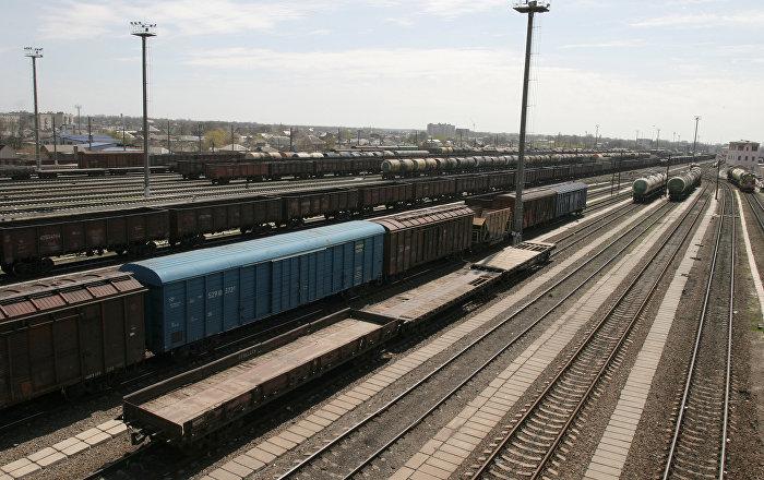 中国至欧洲的列车将俄企业所需的零件运至加里宁格勒